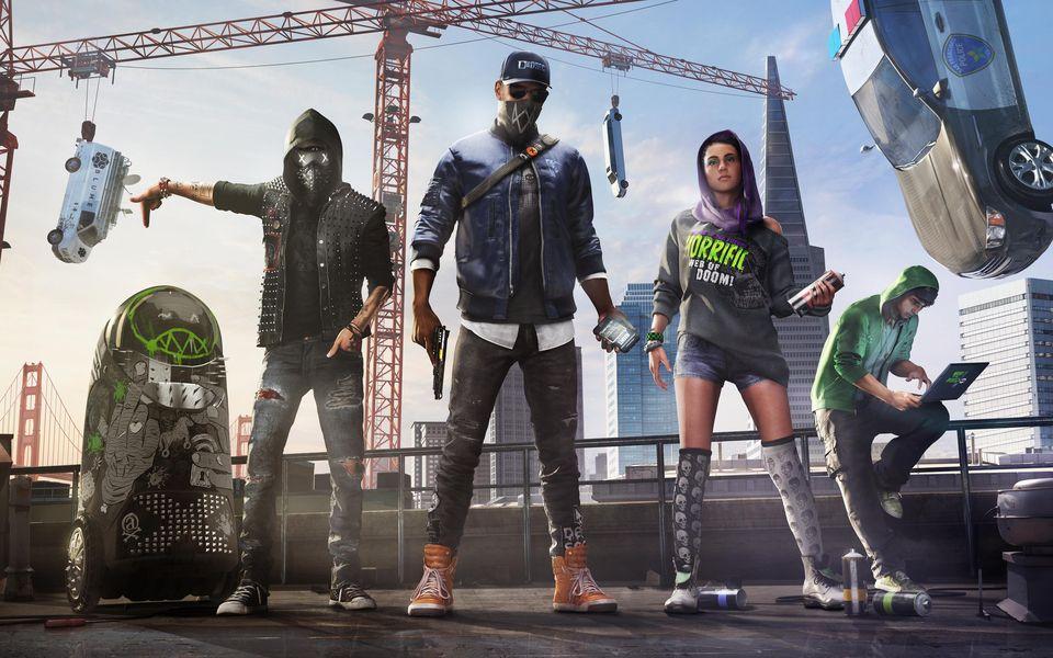 Watch Dogs 2 Ubisoft Forward Free