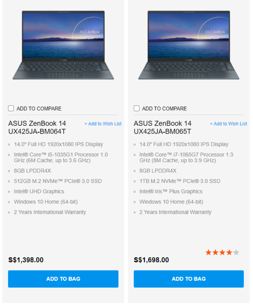 Asus ZenBook 13 And 14 With Intel 10th Gen CPUs To Arrive End of July 2020 11