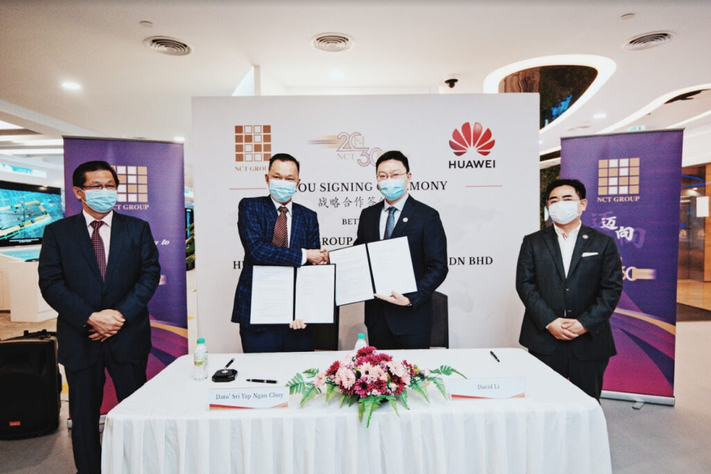 NCT Group Signs MoU With Huawei Malaysia To Co-operate On Smart Campus Technology 5