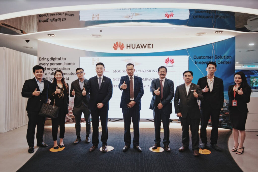 NCT Group Signs MoU With Huawei Malaysia To Co-operate On Smart Campus Technology 6