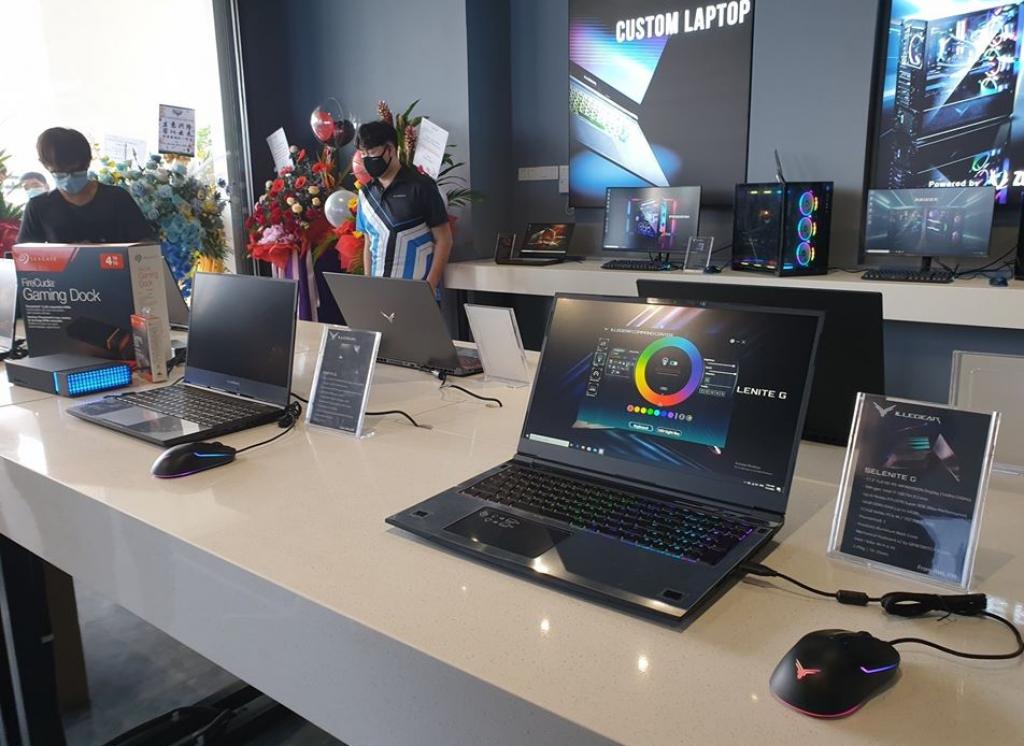Illegear Johor Bahru Concept Showroom Launched; AMD Ryzen 4000 Series Laptops Unveiled 8