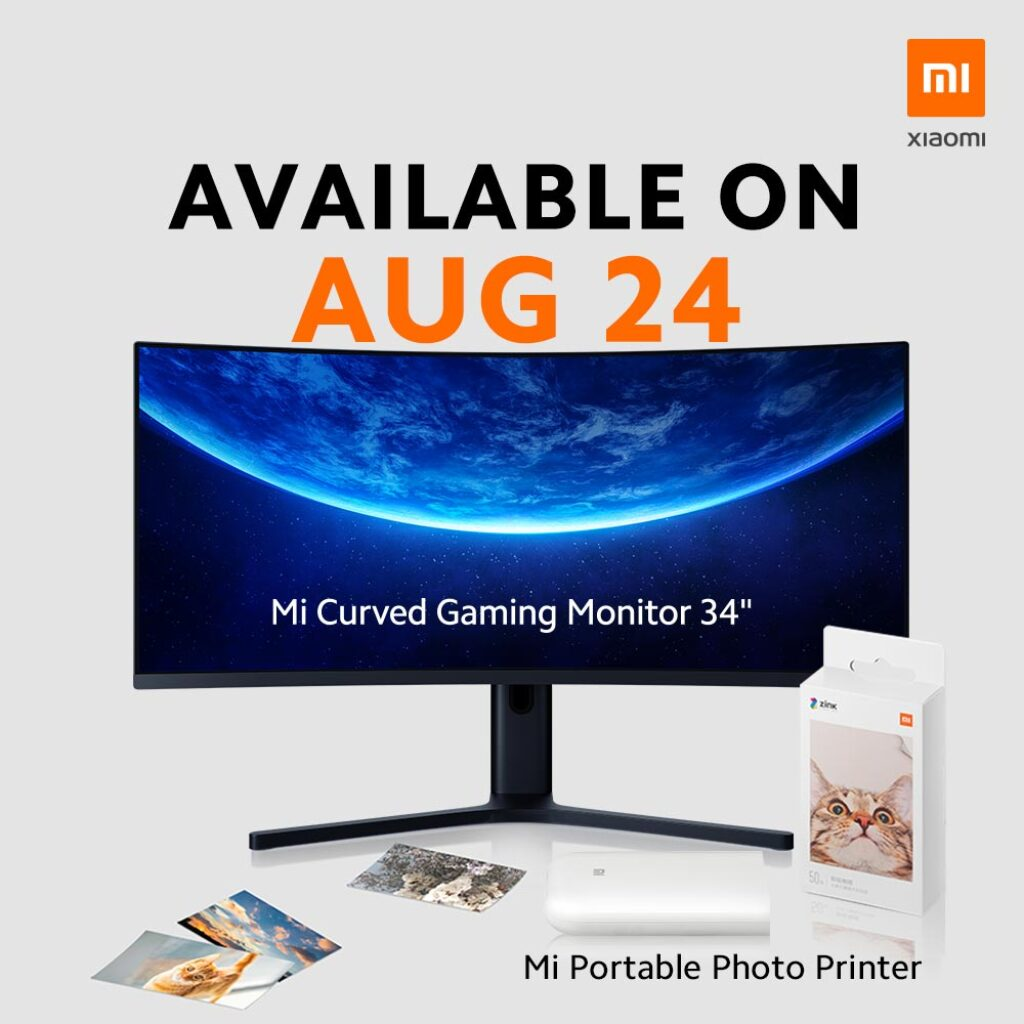"""Xiaomi Mi Curved Gaming Monitor 34"""" To Launch In Malaysia On 24th August 2020 4"""