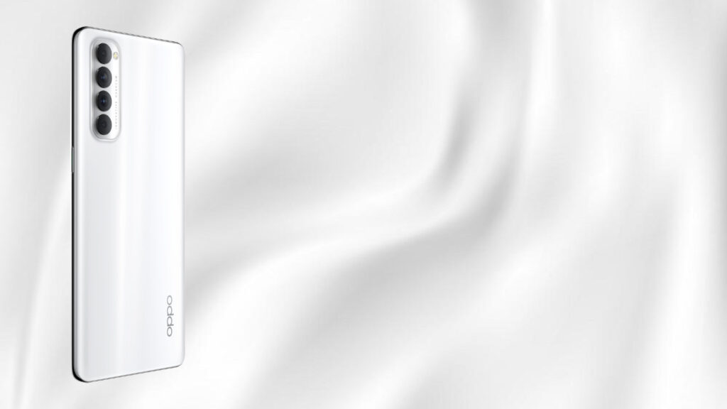 OPPO Reno 4 silky white