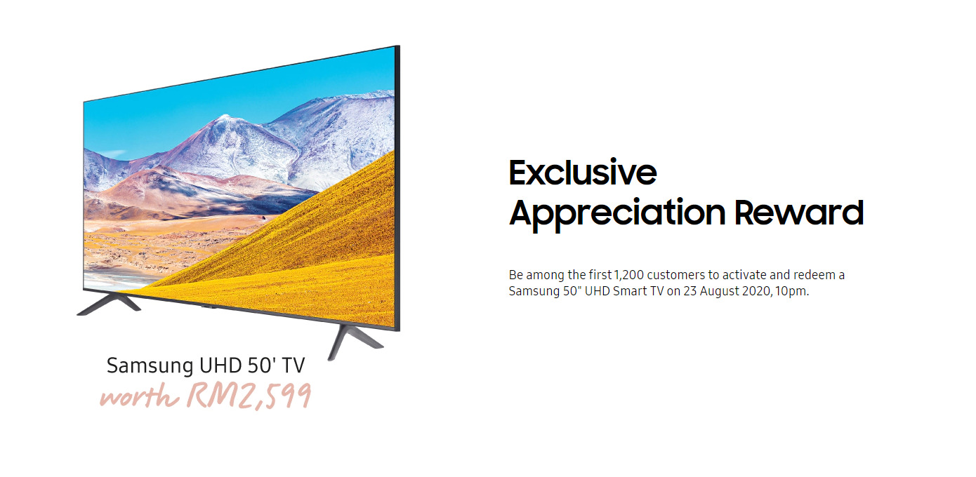 Samsung's Latest Freebie For Galaxy Note 20 Buyers In Malaysia Is A 50-inch UHD Smart TV 6