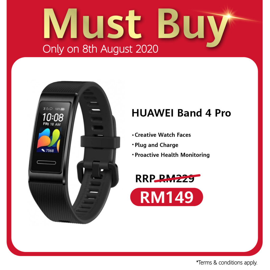 Huawei 88 Carnival Celebrates 8th August With Ulti-Mate Sale, RM88 Accessories Voucher, And Store Pick Up Service Specials 7