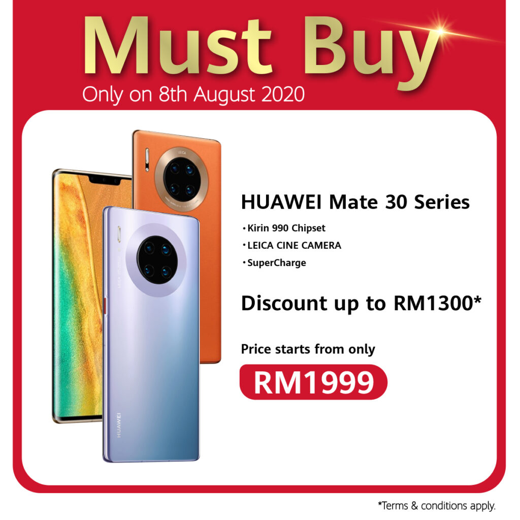 Huawei 88 Carnival Celebrates 8th August With Ulti-Mate Sale, RM88 Accessories Voucher, And Store Pick Up Service Specials 10