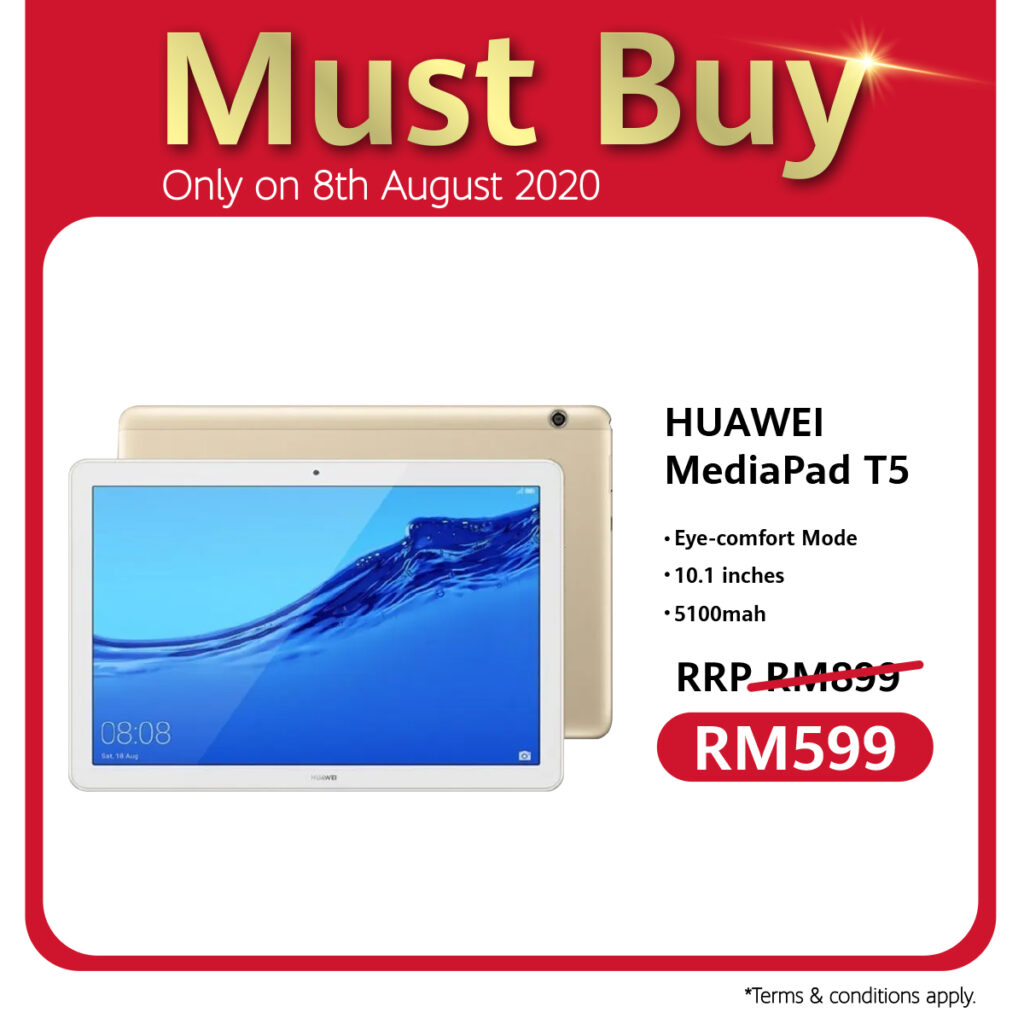Huawei 88 Carnival Celebrates 8th August With Ulti-Mate Sale, RM88 Accessories Voucher, And Store Pick Up Service Specials 9