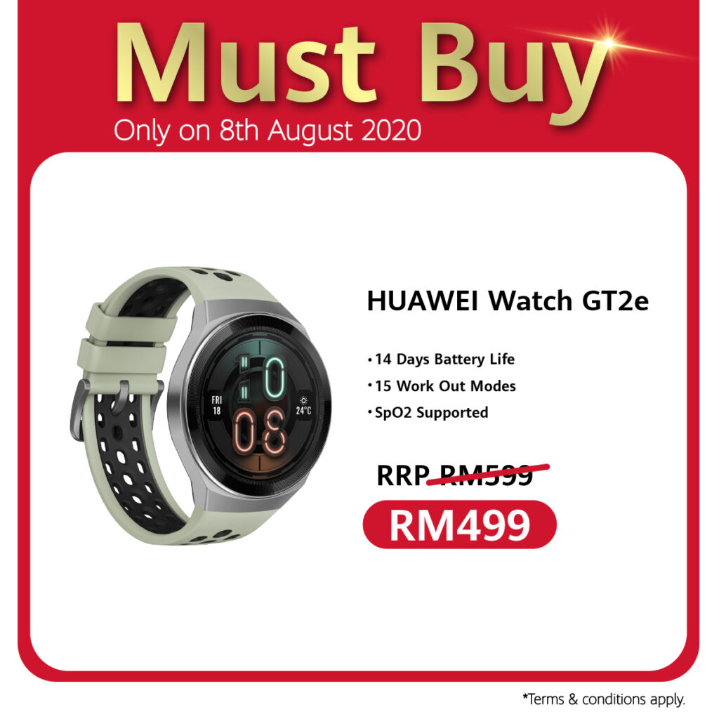 Huawei 88 Carnival Celebrates 8th August With Ulti-Mate Sale, RM88 Accessories Voucher, And Store Pick Up Service Specials 5