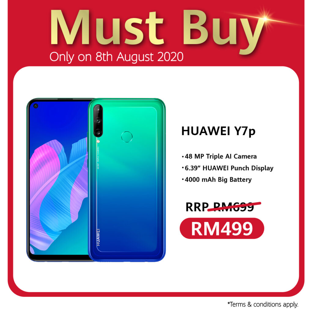 Huawei 88 Carnival Celebrates 8th August With Ulti-Mate Sale, RM88 Accessories Voucher, And Store Pick Up Service Specials 6