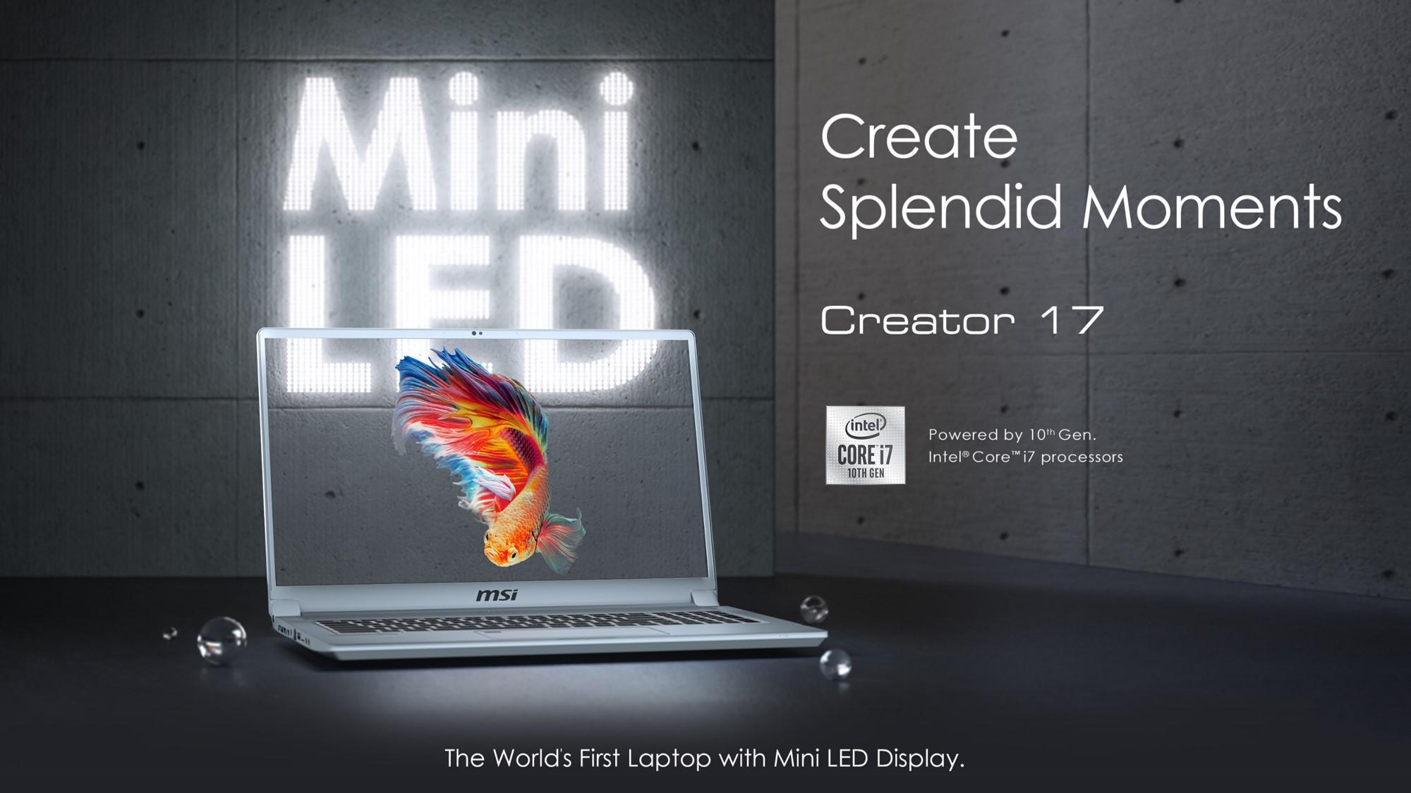 MSI Creator 17: Trendsetting Mini LED Display For Content Creators 5