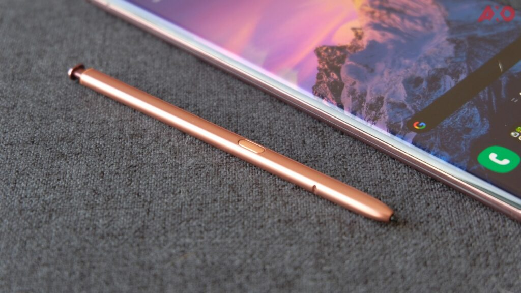 Samsung Galaxy Note 20 Ultra 5G Review S-Pen
