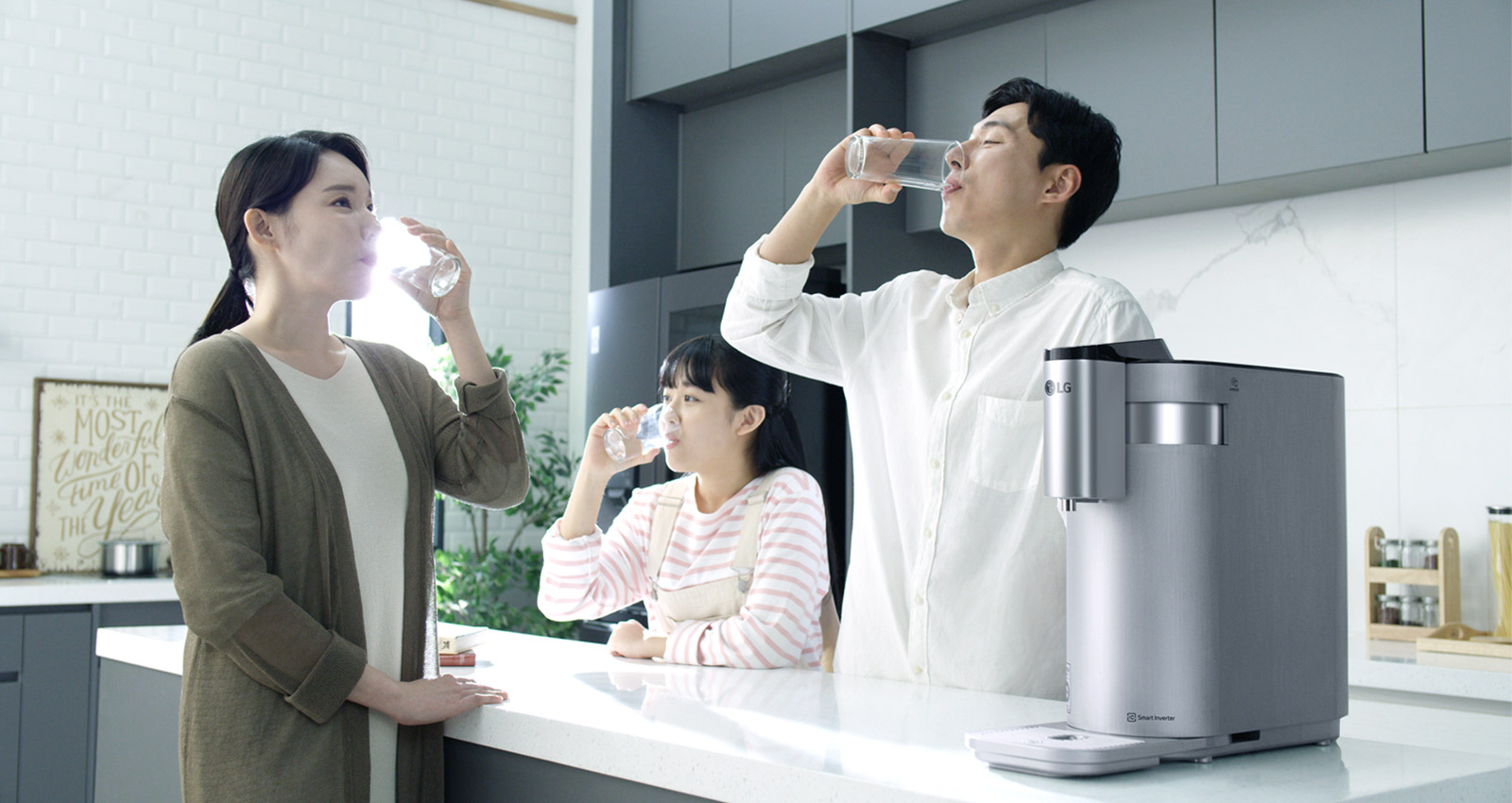 LG PuriCase 4-WARD Tankless Water Purifier