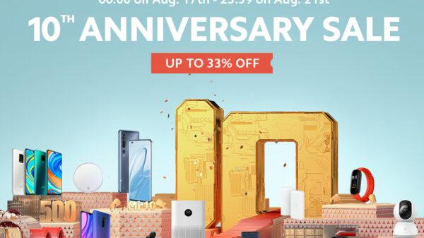 Xiaomi 10th Anniversary