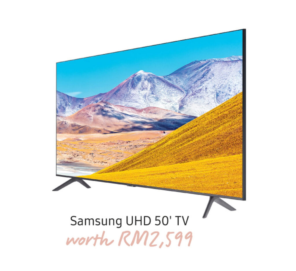 Samsung's Latest Freebie For Galaxy Note 20 Buyers In Malaysia Is A 50-inch UHD Smart TV 7