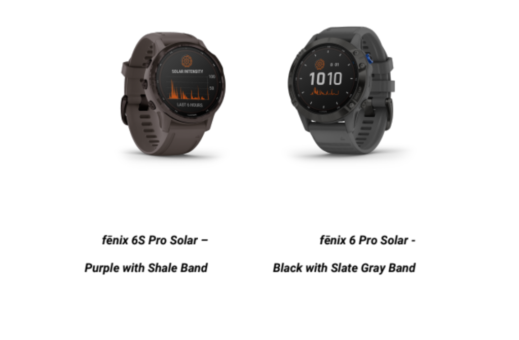 Garmin Solar Edition Introduced In Instinct Solar, fenix 6S Solar, And fenix 6S Pro Solar From RM1,999 14