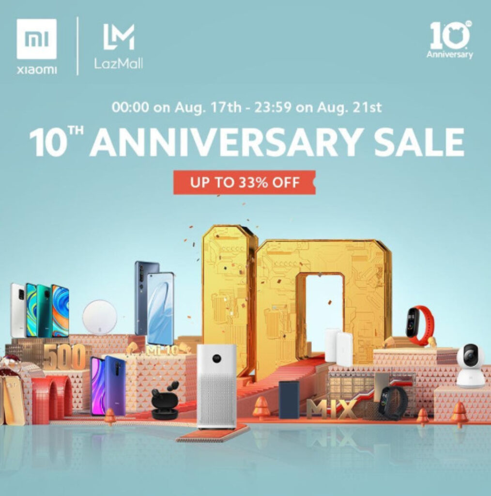 Xiaomi 10th Anniversary Deals