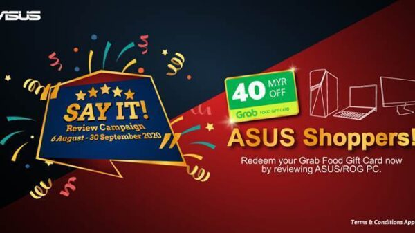 asus say it review campaign
