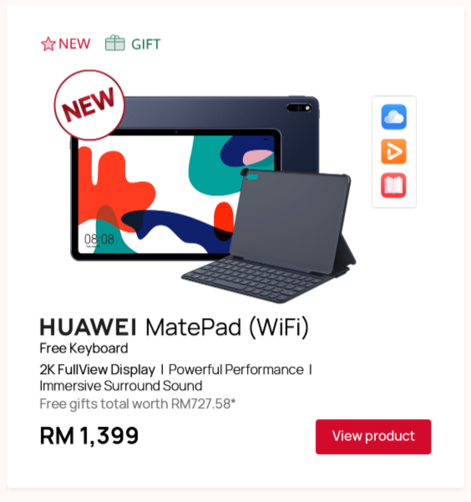 Get The Huawei Mate 30 Pro For RM1,999 On The Huawei Store Shop 9.9 Super Sale 6