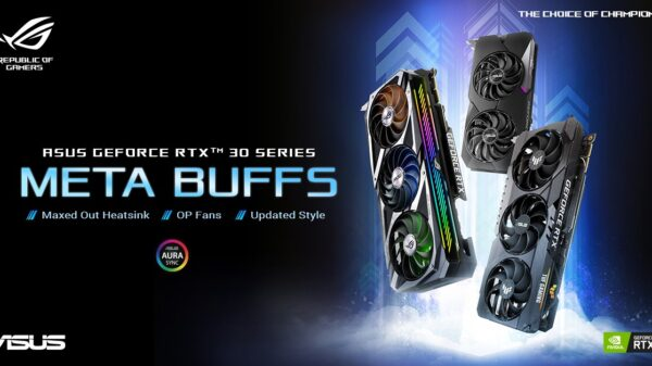 Asus Showcases its RTX 30 Series Graphics Cards 14