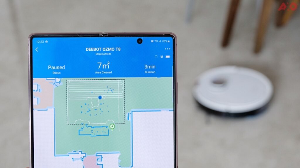 DEEBOT OZMO T8 Smart Robot Vacuum Review: Senses Everything, Sucks Everything 45