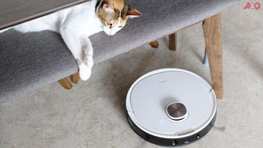 DEEBOT OZMO T8 Smart Robot Vacuum Review: Senses Everything, Sucks Everything 43