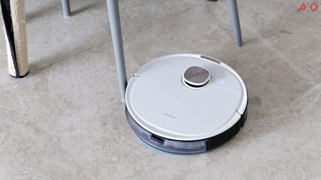 DEEBOT OZMO T8 Smart Robot Vacuum Review: Senses Everything, Sucks Everything 54