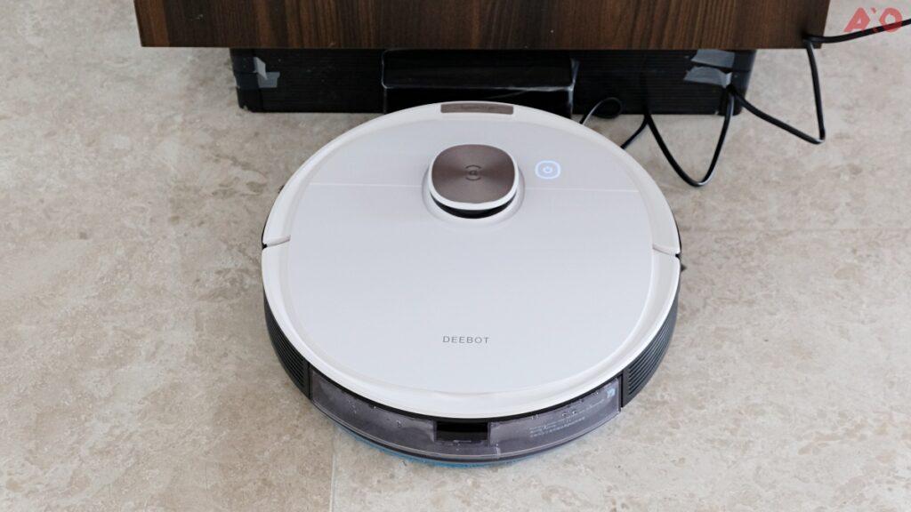 DEEBOT OZMO T8 Smart Robot Vacuum Review: Senses Everything, Sucks Everything 52