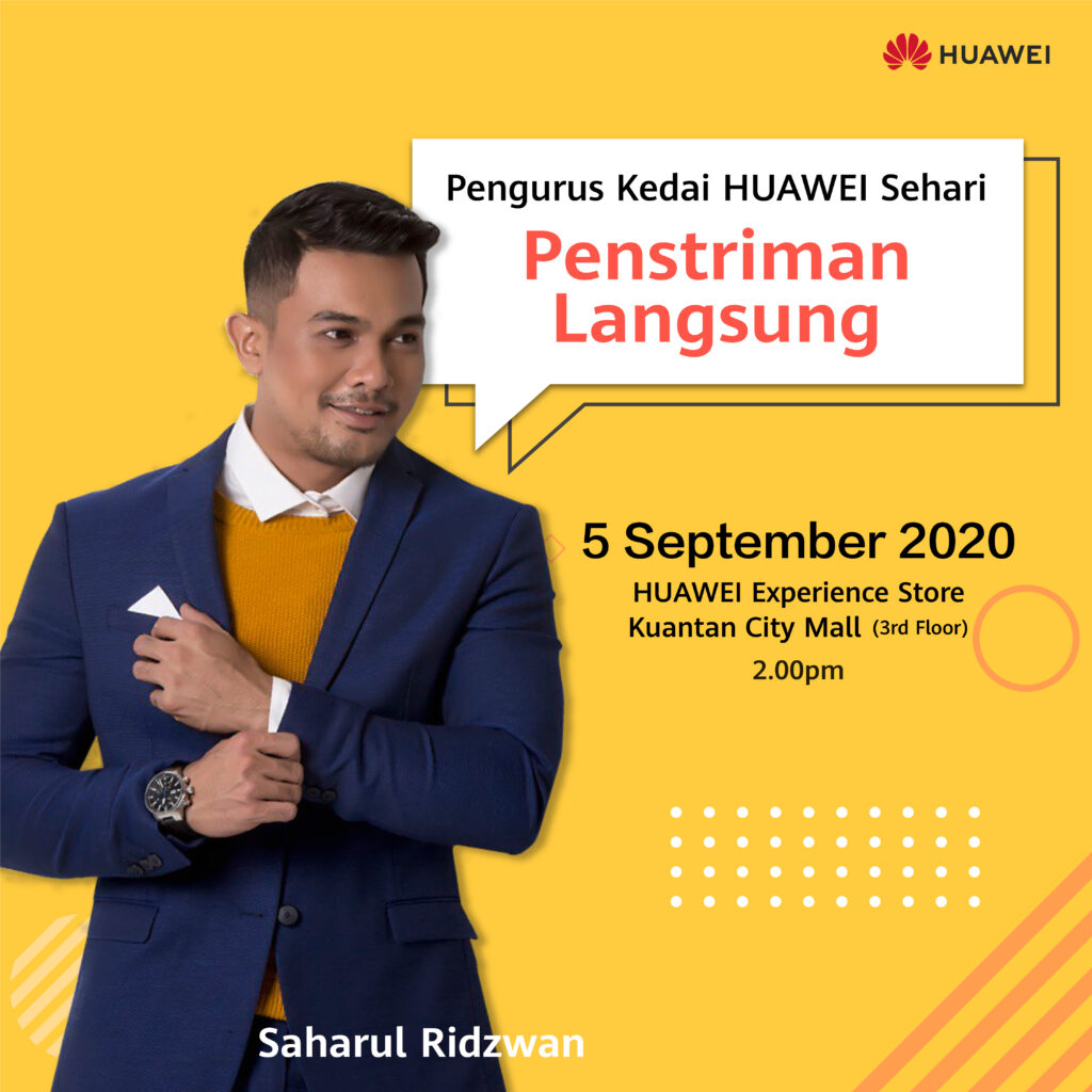 """Huawei's """"Store Manager For A Day"""" Campaign Gets Influencers To Help You Make The Most Out Of Your Huawei Devices 5"""
