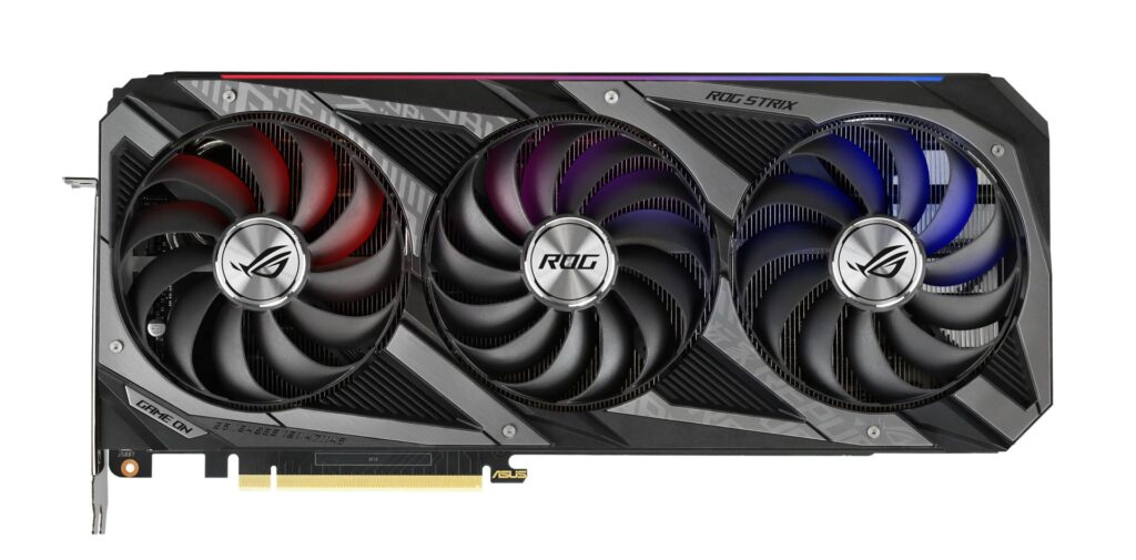 Asus Showcases its RTX 30 Series Graphics Cards 10