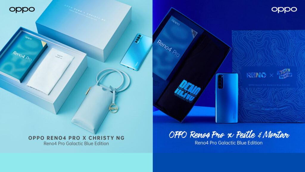 OPPO Reno4 Pro Galactic Blue