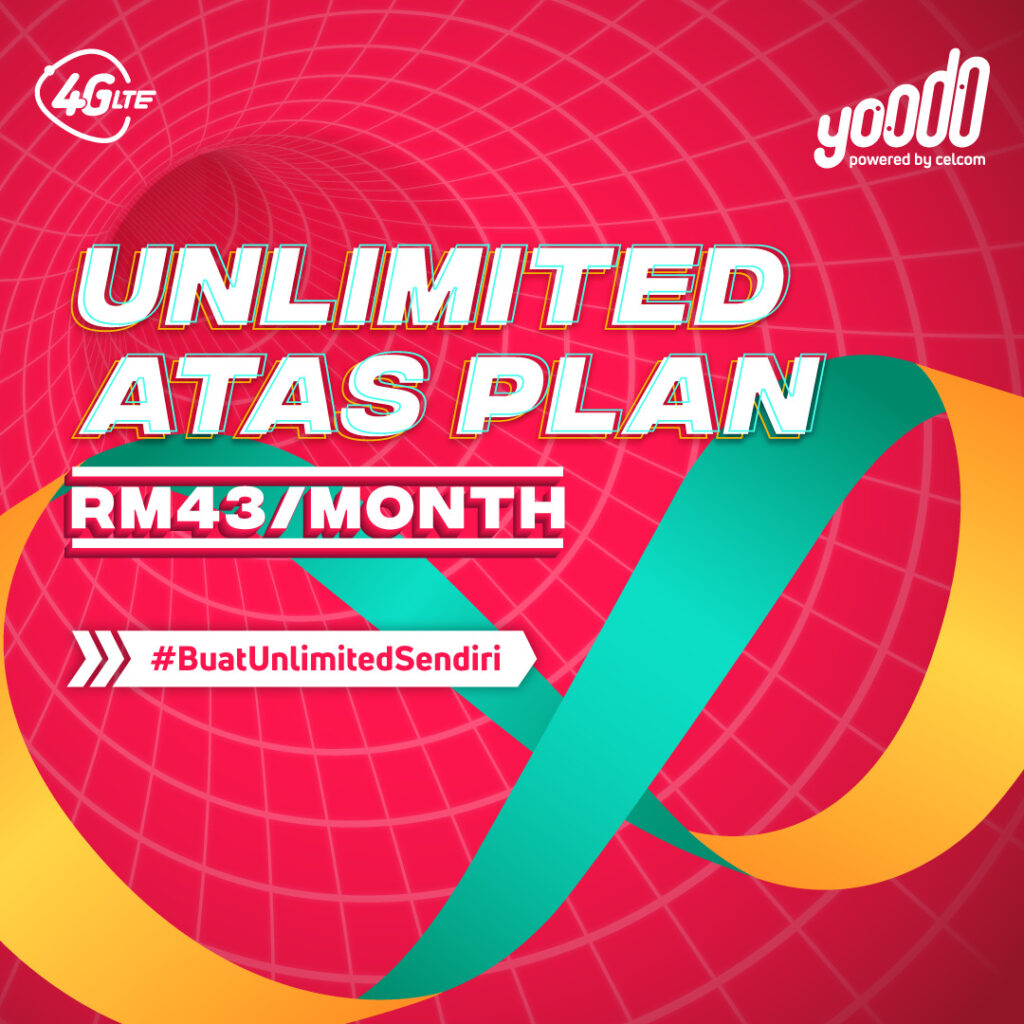Yoodo Launches New Customisable Unlimited Atas And Unlimited Bajet Plans 5