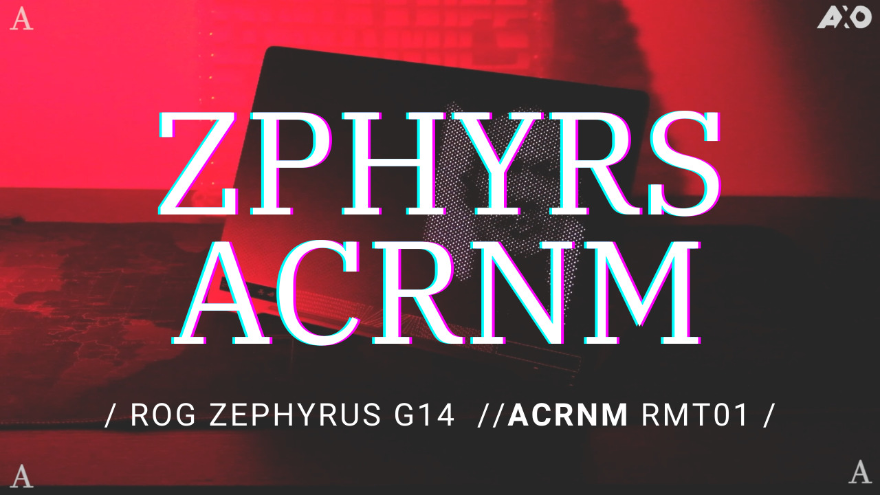 ROG X Acronym Special Edition Zephyrus G14 Priced At RM11,299; Pre-Orders available Now 7