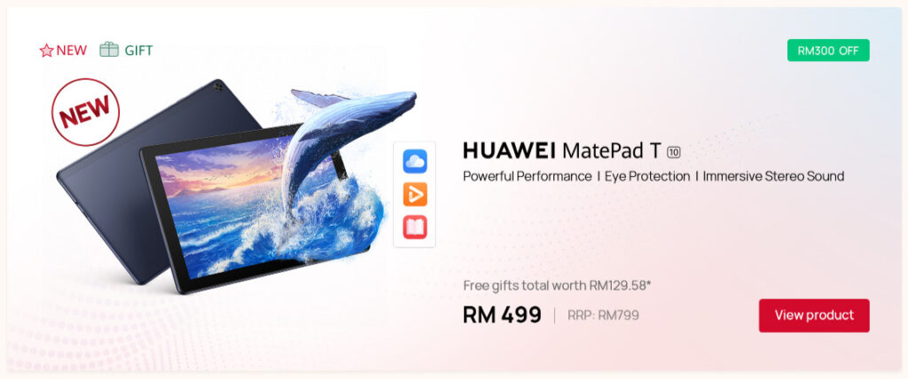 Huawei Store Shop 9.9 Super Sale matepad T