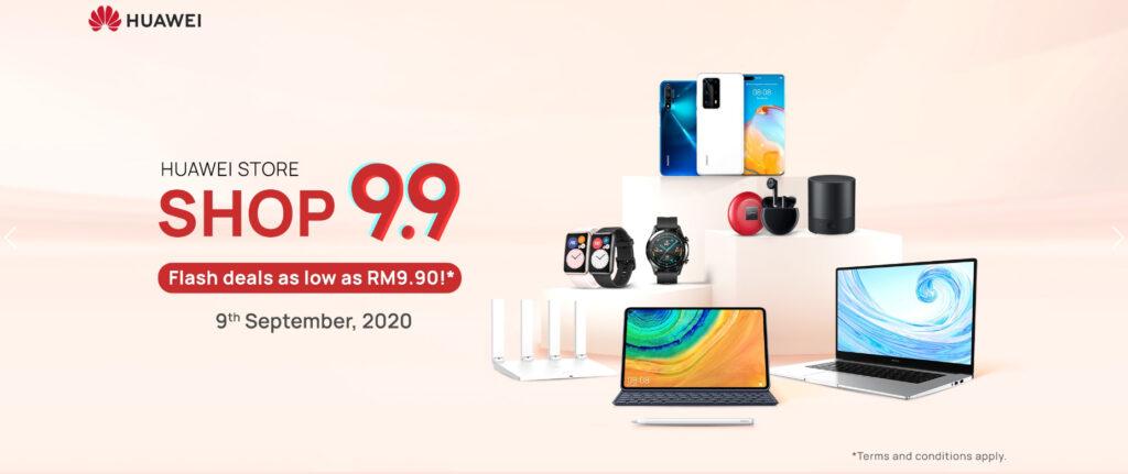 Huawei Store Shop 9.9 Super Sale