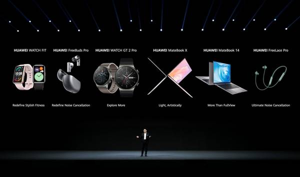 Huawei Unveils New MateBook X, MateBook 14, FreeBuds Pro, And Watch GT 2 Pro 10