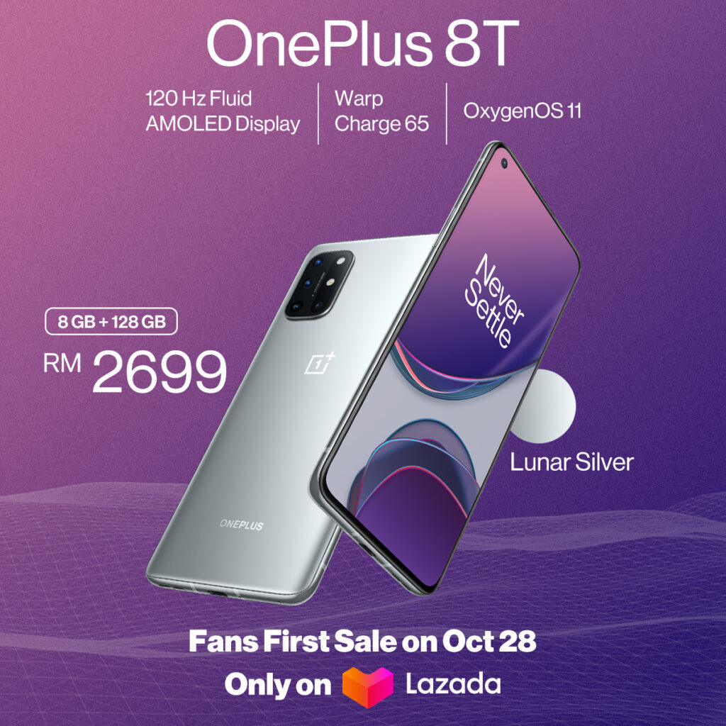 OnePlus 8T Officially Debuts In Malaysia From RM2,699; Sales Start 28th October 10