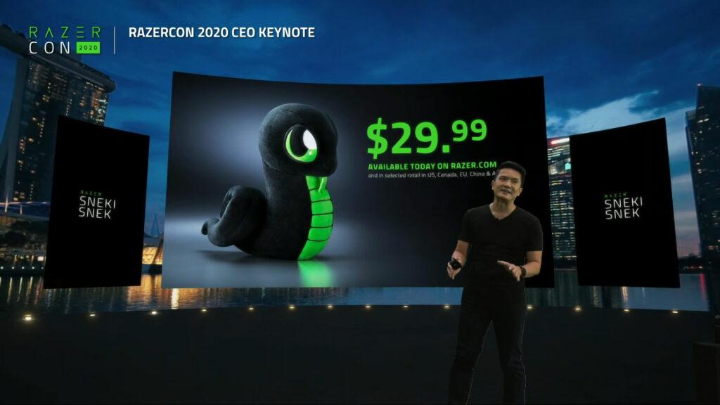 Meet Sneki Snek, Razer's New Chief Gaming Mascot That Helps save Trees 13