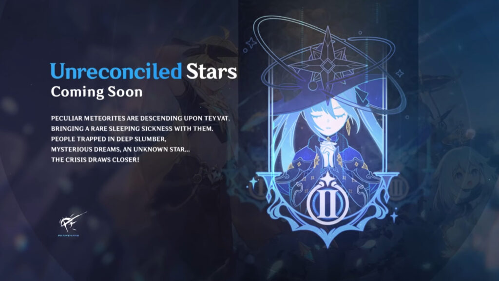 Genshin Impact 1.1 Update - Unreconciled Star Event