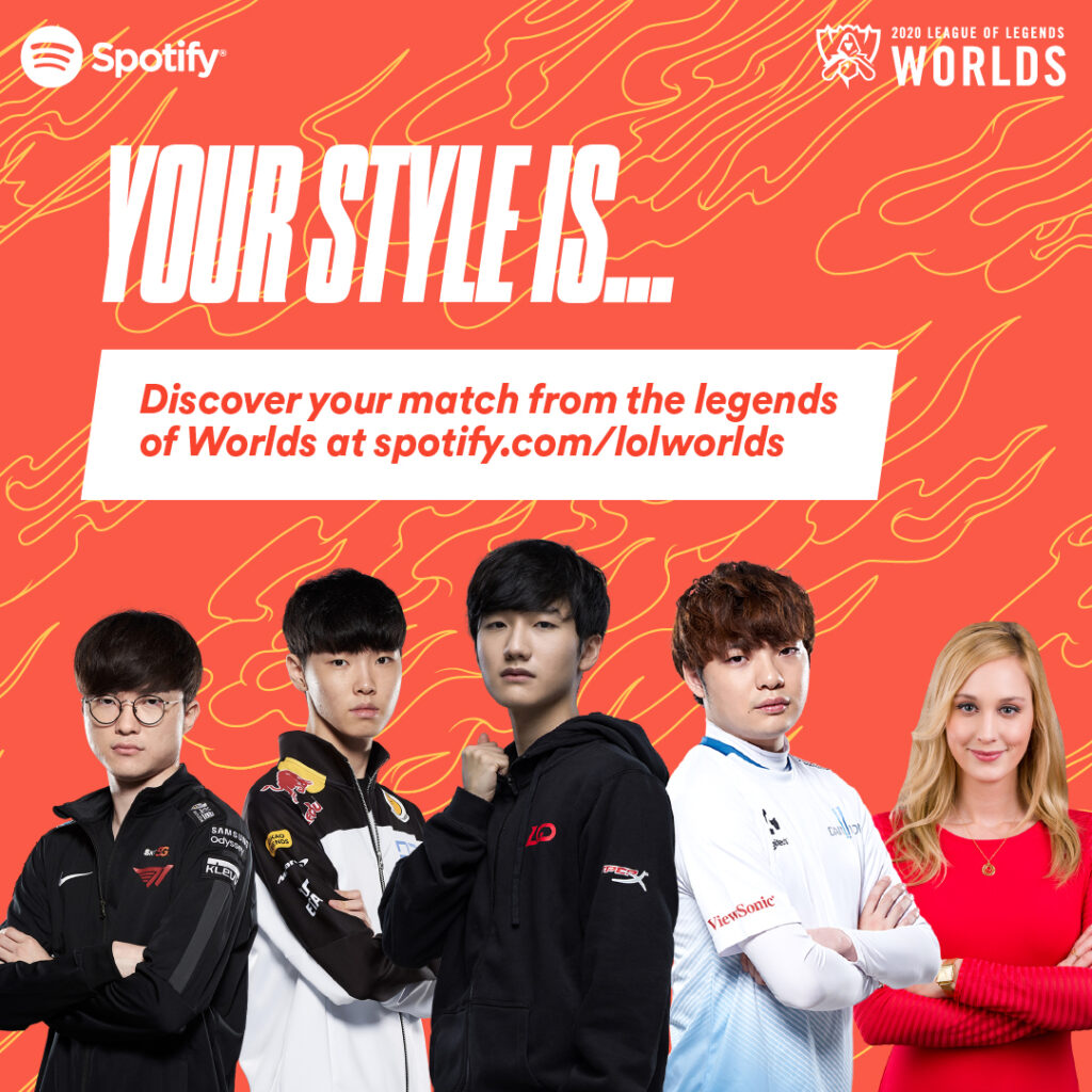 Spotify X League Of Legends