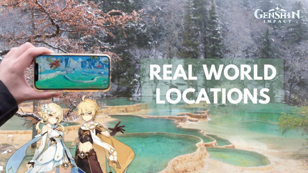 Genshin Impact Real World Locations