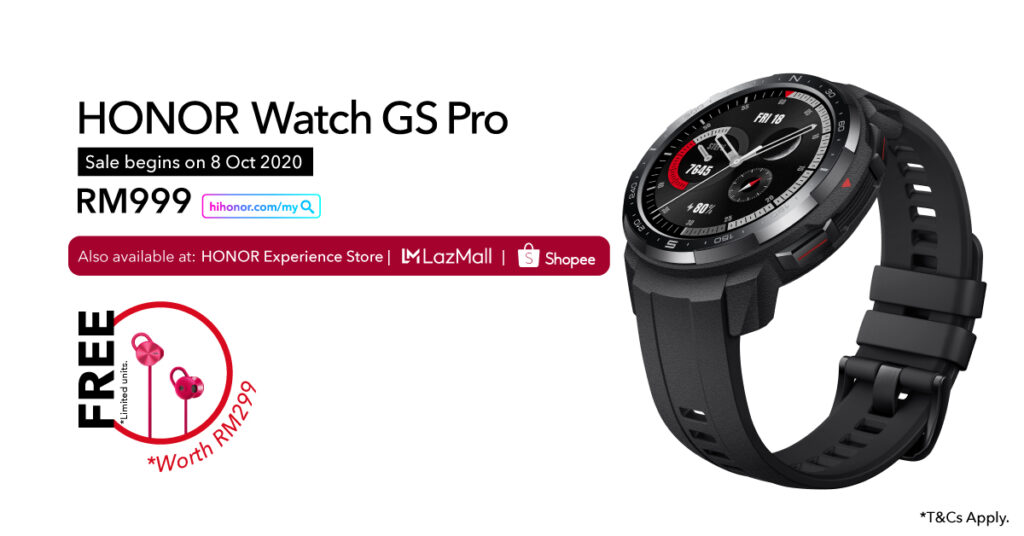 HONOR MagicBook Pro and HONOR Watch GS Pro Launched From RM999 9