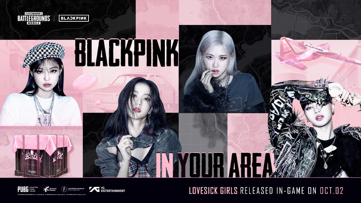 Blackpink Lovesick Girls PUBG mobile