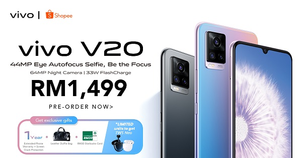 Vivo V20 Series Now Available In Malaysia; Pre-Orders Start From RM1,499 9