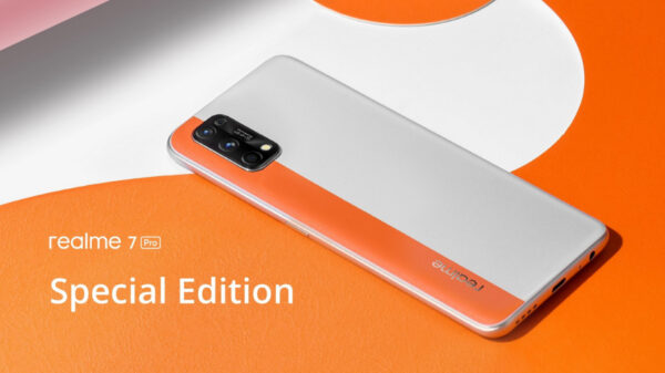 Realme 7 Special Edition Horizon Orange