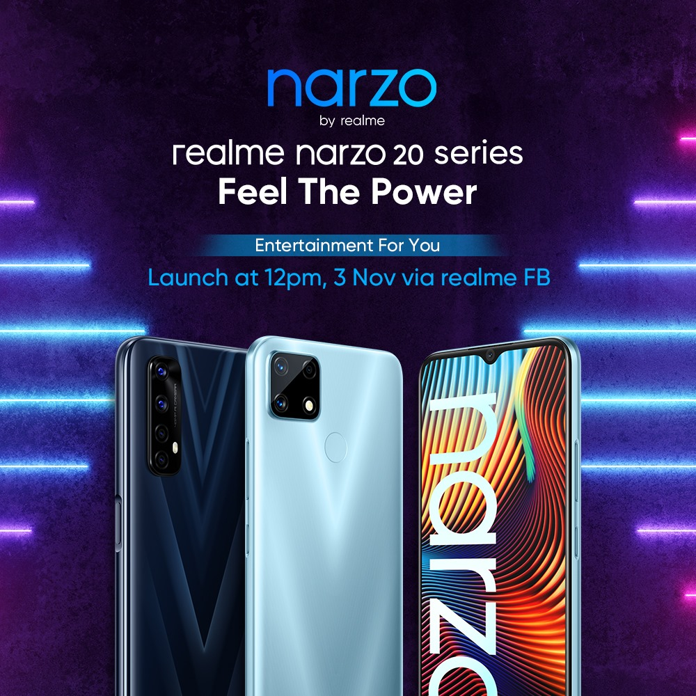 realme Narzo 20 Series To Officially Launch In Malaysia On 3rd November 2020 8