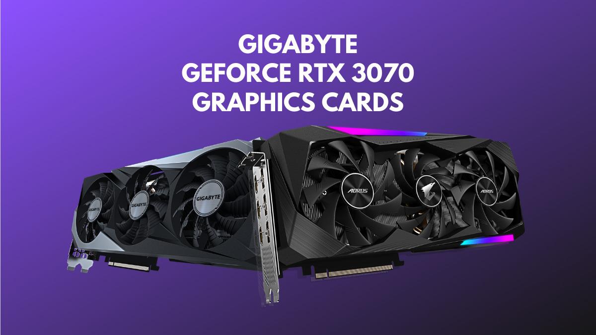 gigabyte geforce rtx 3070 series gpu