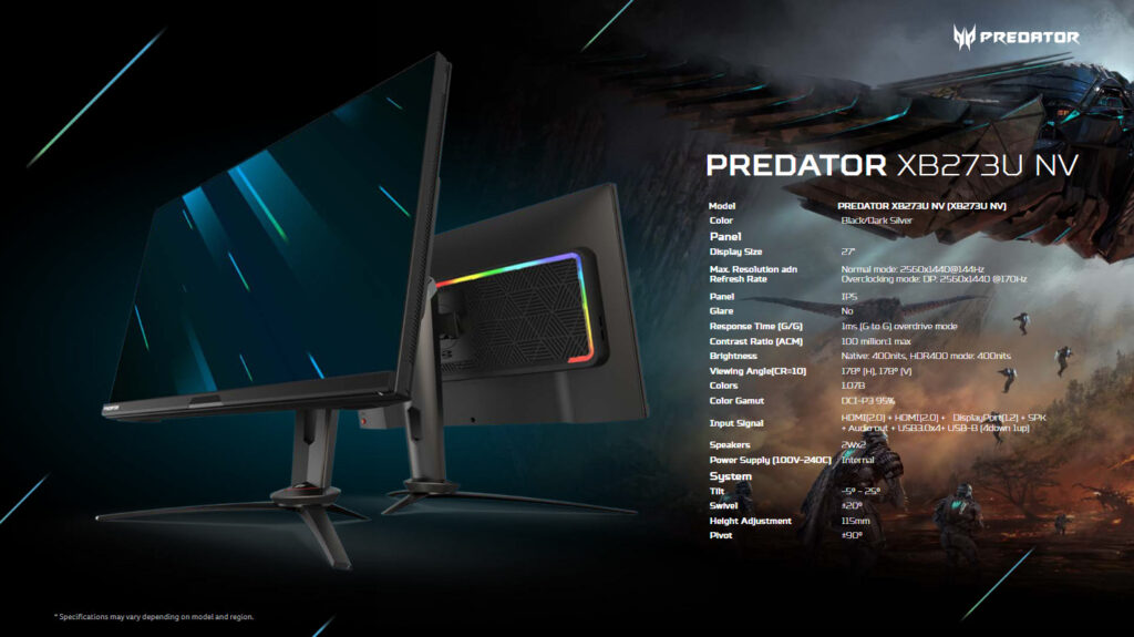 Acer Predator And Nitro Monitors Now Offer TÜV Rheinland Eyesafe certification 5