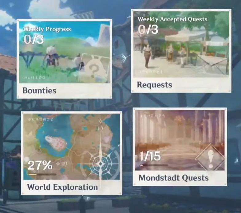 Genshin Impact 1.1 Update Reputation System