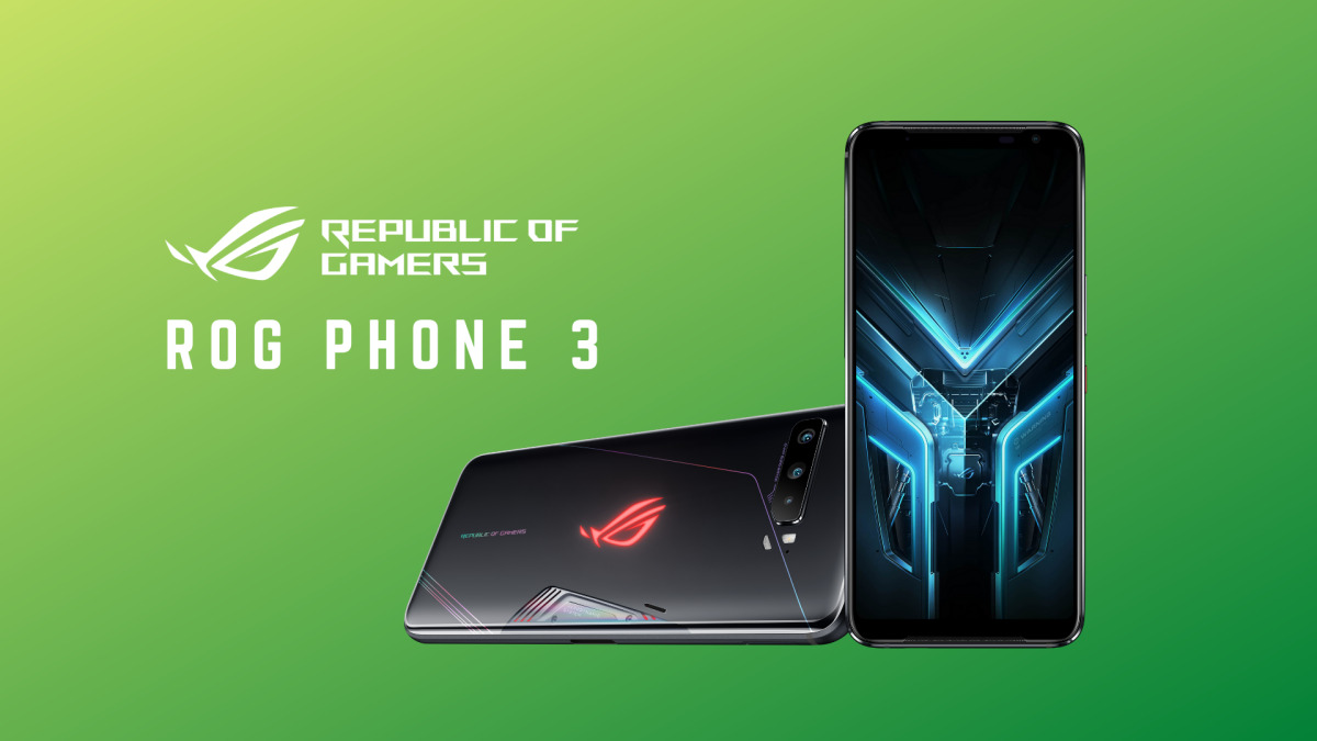 ROG Phone 3 Strix Edition Zerolution