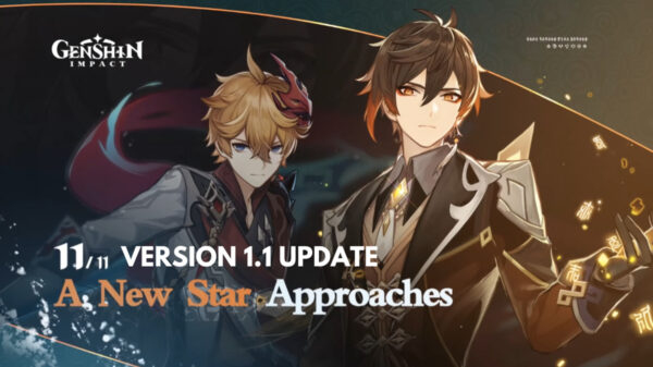 Genshin Impact 1.1 Update